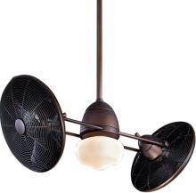 Minka-Aire F402-ORB - One Light Oil Rubbed Bronze Dual Motor Ceiling Fan
