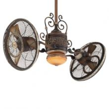 Minka-Aire F502-BCW - One Light Belcaro Walnut Dual Motor Ceiling Fan