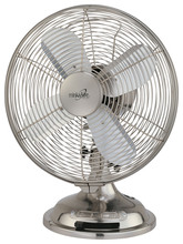 Minka-Aire F300-BN - Brushed Nickel Portable Fan
