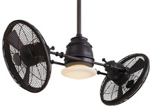 Minka-Aire F802-KA - One Light Kocoa Dual Motor Ceiling Fan