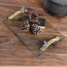 Uttermost 20197 - Uttermost Hive Glass Tray
