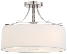 Minka-Lavery 3307-84 - 3 Light Semi Flush