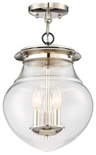 Minka-Lavery 4572-583 - Semi Flush (Convertible To Mini Pendant)