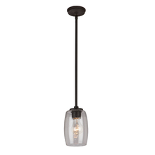 Artcraft AC10531JV - San Antonio 1 Light  Java Brown Pendant