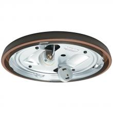 Casablanca Fan Co. 99255 - CFL Low Profile Fitter, Brushed Cocoa