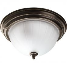 Progress P3703-20WB - 2-Lt. Antique Bronze Flush Mount
