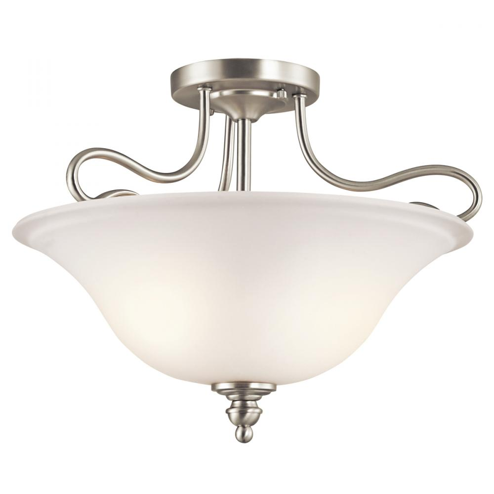 Semi Flush 2Lt LED