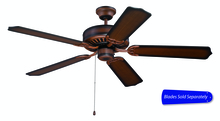 "Craftmade C52BCW - 52"" Ceiling Fan - Ceiling Fan Motor only - Blades sold separately"