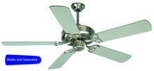 "Craftmade CXL52SS - CXL 52"" Ceiling Fan in Stainless Steel (Blades Sold Separately)"