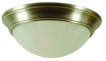 Craftmade X4815-BN - 3 Light Twist-In Glass Flushmount in Brushed Satin Nickel