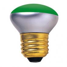 Bulbrite 204040 - 40W R14 REFL.GREEN 120V