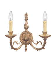 Crystorama 482-OB - Crystorama Etta 2 Light Sconce