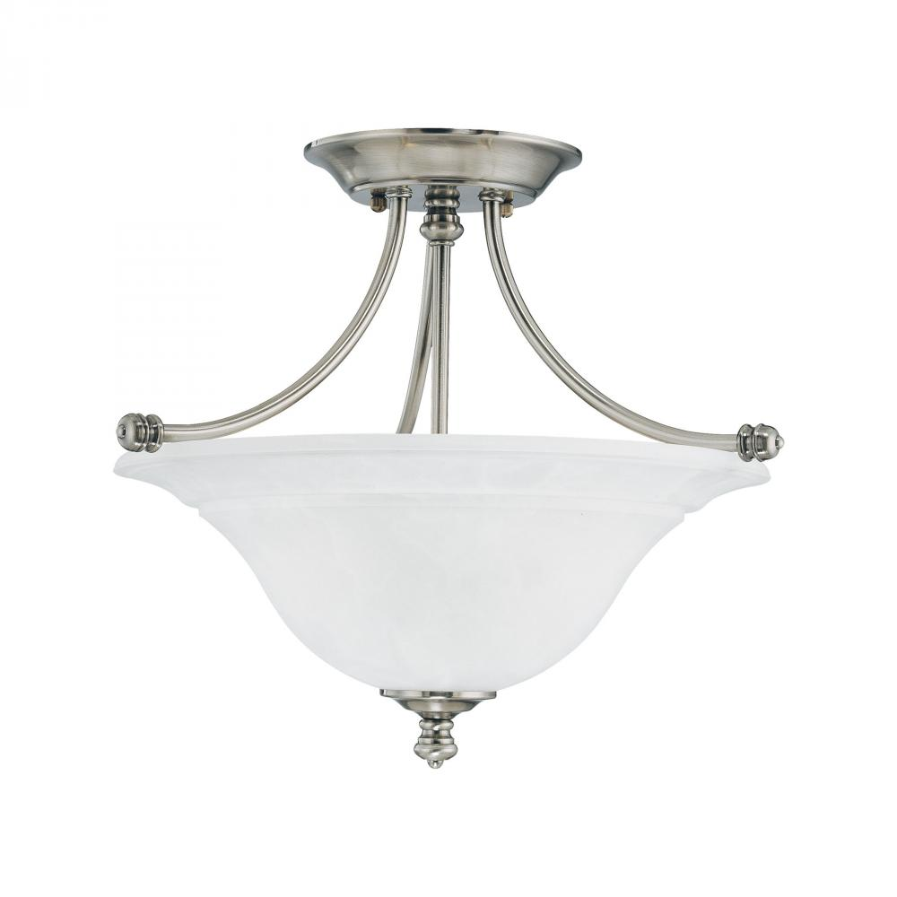 HARMONY ceiling lamp Satin Pewter 2x100