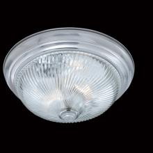 Thomas SL876278 - Two-light ceiling style in a Brushed Nickel finish with clear swirl glass. Rated for 9 degree supply