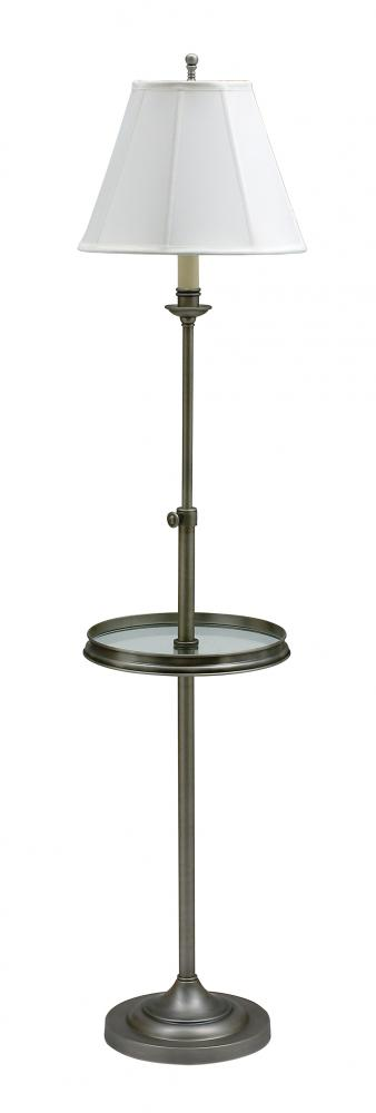 Wolberg Electrical Supply Inc in Albany, New York, United States, House of Troy CL202-AS, Club Adjustable Floor Lamp with Table, Club