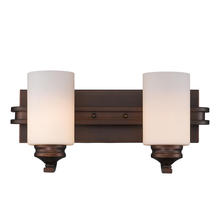 Golden 1051-BA2 SBZ-OP - 2 Light Bath Vanity