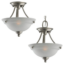 Sea Gull 77625-962 - Two Light Semi-Flush Convertible Pendant