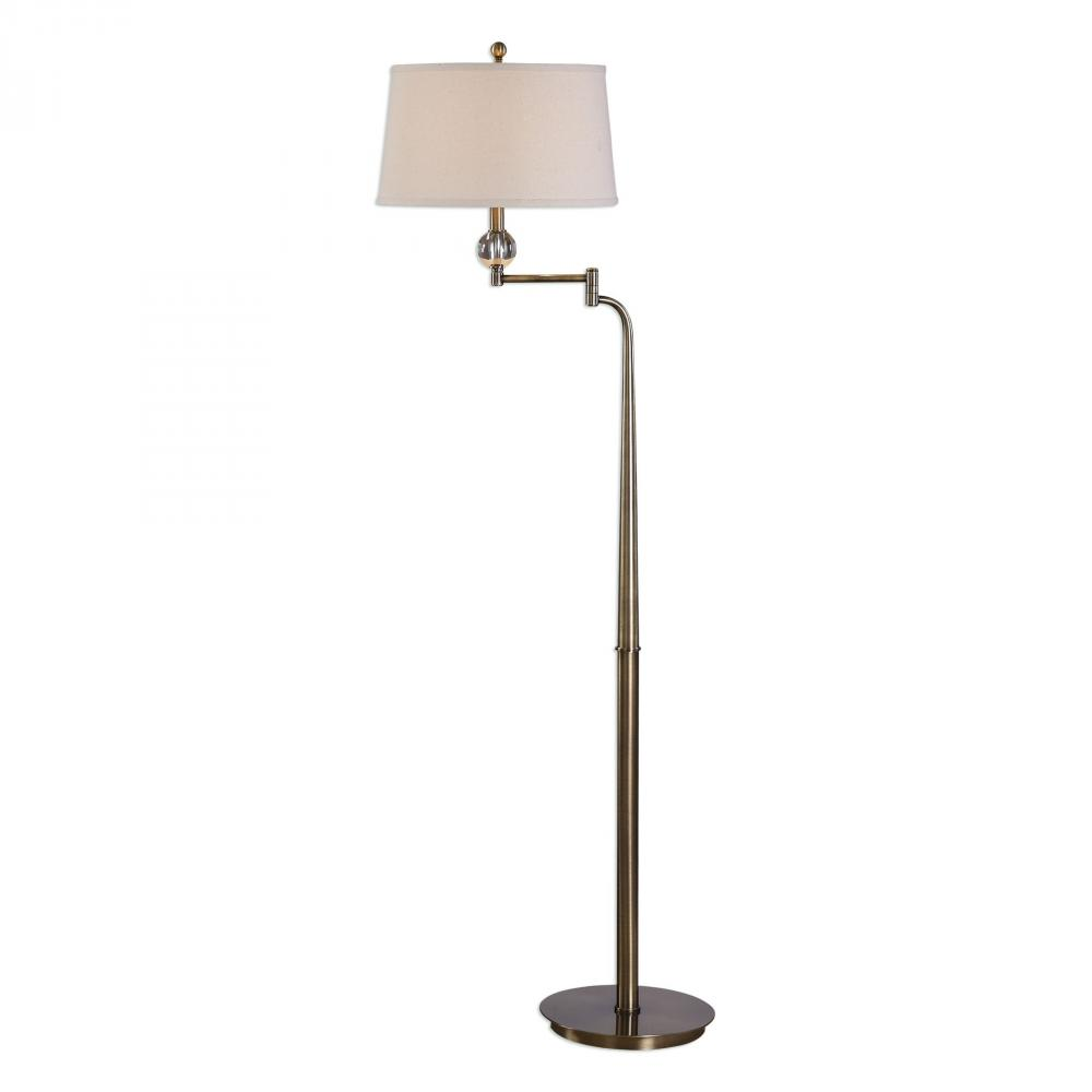 Wolberg Electrical Supply Inc in Albany, New York, United States, Uttermost 28106, Uttermost Melini Swing Arm Floor Lamp, Melini