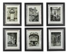 Uttermost 33430 - Uttermost Paris Scene Framed Art Set/6