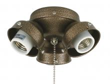 Fanimation F301AB - 3-LIGHT TURTLE FITTER: ANTIQUE BRASS
