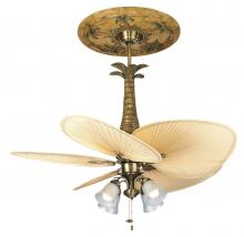 Fanimation F404AB - 4-LIGHT TRADITIONAL FITTER: ANTIQUE BRASS