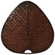 Fanimation PUD1A - Punkah Blade Set of 1 - 22 inch - Wide Oval Bamboo - Antique