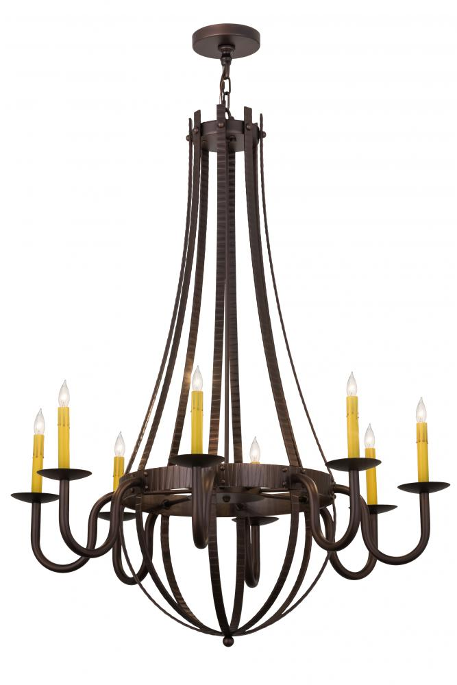 38w barrel stave metallo 8 lt chandelier 173504 wolberg 38w barrel stave metallo 8 lt chandelier aloadofball Choice Image