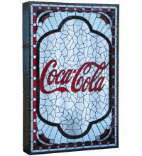 "Meyda Tiffany 122478 - 25.25""W X 38.25""H X 5""D Coca-Cola Tabernacle LED Display"
