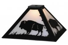 "Meyda Tiffany 144469 - 12""Sq Buffalo Shade"