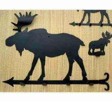 "Meyda Tiffany 22779 - 24""L Moose Coat Rack"