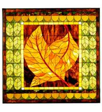 "Meyda Tiffany 36116 - 58.1""W X 56.6""H Harvest Festival Stained Glass Window"