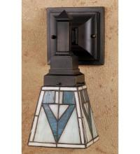 "Meyda Tiffany 48175 - 5""W Otero Mission Wall Sconce"