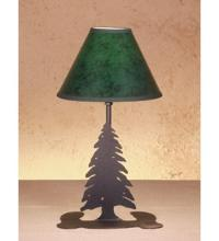 "Meyda Tiffany 49810 - 15""H Tall Pines Faux Leather Accent Lamp"