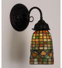 "Meyda Tiffany 74049 - 5.5""W Tiffany Acorn Wall Sconce"
