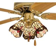 "Meyda Tiffany 99245 - 4""W Tiffany Hanginghead Dragonfly Fan Light Shade"